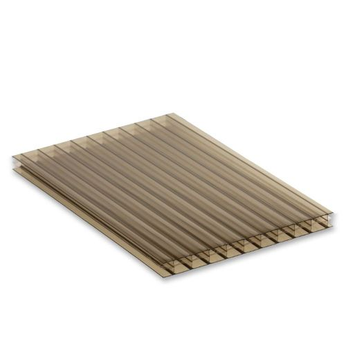 16mm Triplewall Polycarbonate Sheet Bronze